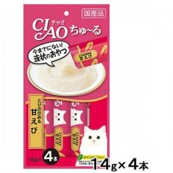 Ciao SC-142 雞肉+甜蝦醬 (14g x4)