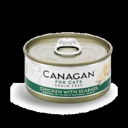 Canagan 原之選 雞肉+鱸魚配方 75g