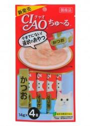 Ciao SC-72  鰹魚醬 14g (14g x4)