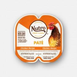 Nutro FEED CLEAN™ 雞肉肉醬 貓罐頭 (1盒2格各37.5g) <橙色>