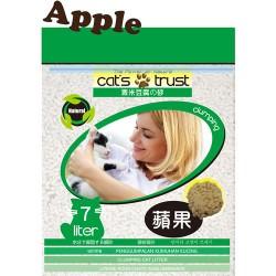 Cat's Trust 豆腐貓砂 (蘋果味) - 7L x5包 (原箱優惠)