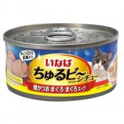 CIAO 流心粒粒 - 燒鰹魚.吞拿魚+吞拿魚湯 85g IM-351