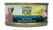 Canidae Pure 無穀物 全犬主食罐頭 雞肉塊與蔬菜 156g 到期日: 27 Oct 2021