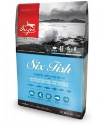 Orijen Six Fish 無穀物 六種魚成犬配方 6kg (粉藍色)