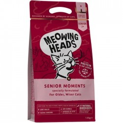 Meowing Heads - Senior Moments 無穀物全天然年長貓配方3kg