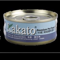 Kakato 吞拿魚 鯖花魚  70g