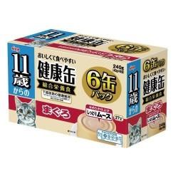 Aixia 11+ 健康慕斯貓罐-吞拿魚 (KCE6-9) 40g x6罐裝