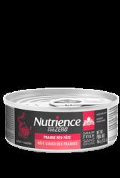 Nutrience Sub Zero 無穀物紅肉、海魚 + 凍乾脫水 牛肉、牛肝及三文魚 全貓罐 5.5oz