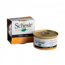 Schesir  吞拿魚及蘆薈飯 啫喱 貓罐頭 85g