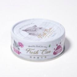 Fresh Can 心臟機機能 慕斯狀 老貓-三文魚 80g (紫色) x24罐優惠