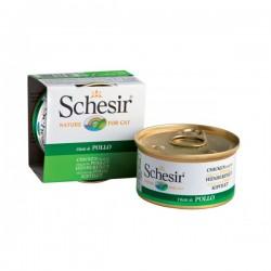 Schesir  雞肉絲飯 啫喱 貓罐頭 85g