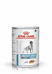 [凡購買處方用品, 訂單滿$500或以上可享免費送貨]  Royal Canin - Sensitivity Control (SC21) 感控處方 (鴨+飯) 狗罐頭 420g x12罐原箱
