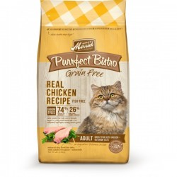 Merrick 無穀物天然貓糧系列 - 成貓雞肉配方4磅