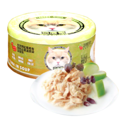 忌廉哥 吞拿魚 + 三文魚 貓罐頭 70g