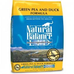 NaturalBalance抗敏鴨肉豌豆貓糧 Natural Balance L.I.D. Green Pea & Duck Formula Cat Food10磅
