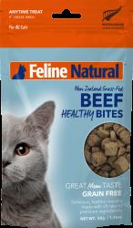 F9 Natural Beef Healthy Bites 凍乾牛肉粒貓零食 50g 到期日: 28/03/2021