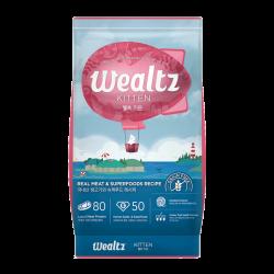Wealtz 幼貓配方 - 鮮雞肉、超級食物食譜 (粉紅) 1.2Kg