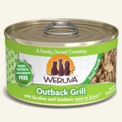 Weruva Outback Grill 沙丁魚+肺魚+鰺魚 貓罐頭 3oz