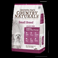 Country Naturals 無穀物 羊肉防敏 中小型犬種精簡配方 4lb