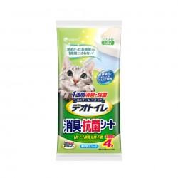 日本 Unicharm 1 週間 消臭抗菌 尿墊 4片(無香味)