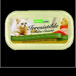 Naturcate 雞胸肉+吞拿魚子、薯仔、紅蘿蔔 (NC85-9) 85g (肉汁) 到期日: 11/2020