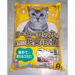QQ Kit 咖啡味紙貓砂 8L X 6包 (原箱優惠)