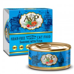 AVP 沙丁魚+吞拿魚 主食mousse 貓罐頭 85g