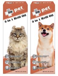 Dr. Pet 3合1深海磷蝦油 3 in 1 Krill Oil 237ml 到期日: 30/9/2021