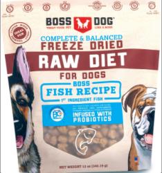 Boss Dog 凍乾生肉 魚食譜 12oz