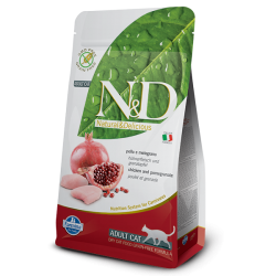 Natural & Delicious 石榴加雞成貓配方乾糧 5kg