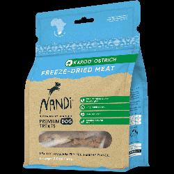 Nandi 南非原野天然凍乾鴕鳥肉狗零食 57g