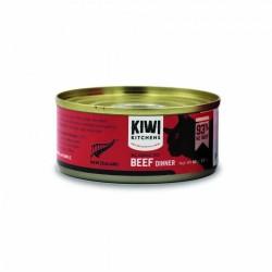 Kiwi Kitchens 紐西蘭 93%牛肉 貓罐頭 85g 到期日:21 Jun 2021