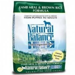 Natural balance 抗敏羊肉紅米狗糧12磅