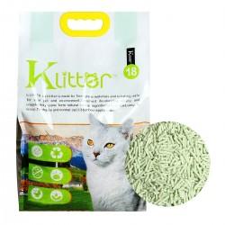 KLitter 貓砂 (綠茶) 2.0 mm 18L x 3包優惠 (共一箱)