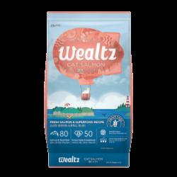 Wealtz 全年齡貓配方 - 鮮三文魚、超級食物食譜 (橙色) 1.2Kg