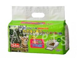 Clean Mew 天然檜木香味消臭抗菌尿墊 34片