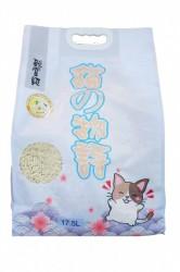 貓之物語 (原味) 3.0mm粗條天然豆腐砂 17.5L x3包 (共一箱)