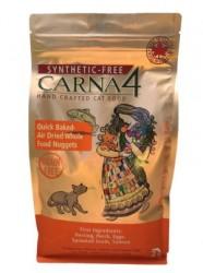 Carna4 烘焙風乾無穀物鯡魚全貓乾糧 4磅 x3包優惠
