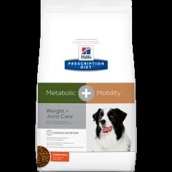 Hill's Metabolic + Mobility 新陳代謝 - 體重管理+關節護理配方狗糧 8.5磅