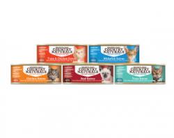 Country Naturals 無穀物貓罐頭 2.8oz 5款 試食優惠 (每味1罐, 共5罐)
