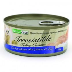 Naturcate NC#10 雞胸肉+三文魚 貓罐頭 155g