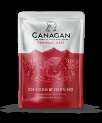 Canagan 原之選 無穀物成貓 雞肉+鯡魚配方 85g x8包優惠