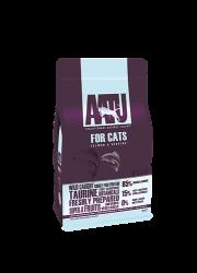 AATU 85/15/0 無穀物 野生三文魚低敏天然貓糧 1kg