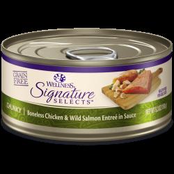 Wellness Signature 雞肉三文魚 Chucky Boneless Chicken & Wild Salmon 5.3oz (5066)