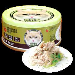 忌廉哥 吞拿魚 + 紫菜 貓罐頭 70g