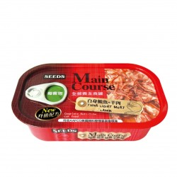 Main Course全營養主食罐-白身鮪魚+羊肉 115g x24罐優惠