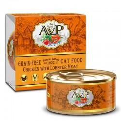 AVP雞肉+龍蝦肉 主食mousse 貓罐頭 85g