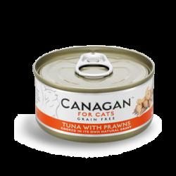 Canagan 原之選 吞拿魚+大蝦 75g
