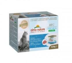 Almo Nature Light 大西洋吞拿魚 貓罐頭 50g x4罐