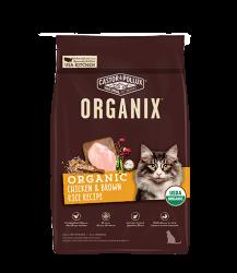 ORGANIX  穀物全貓糧 – 有機雞肉糙米配方 6lb